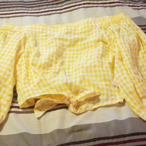 Forever 21 NWT crop shirt